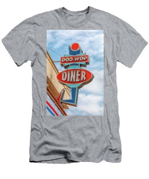 Doo Wop Diner Wildwood Men's T-Shirt (Athletic Fit)