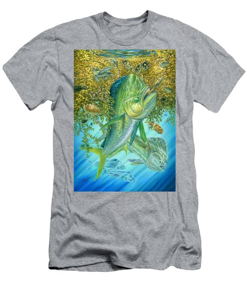 Dorados Hunting In Sargassum Men's T-Shirt (Athletic Fit)