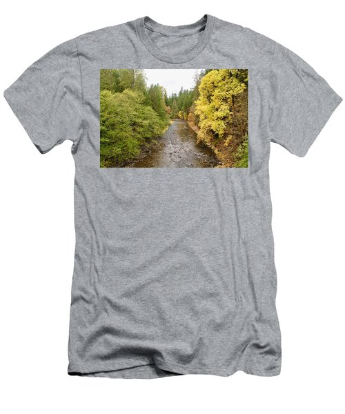 Down The Molalla Men's T-Shirt (Athletic Fit)