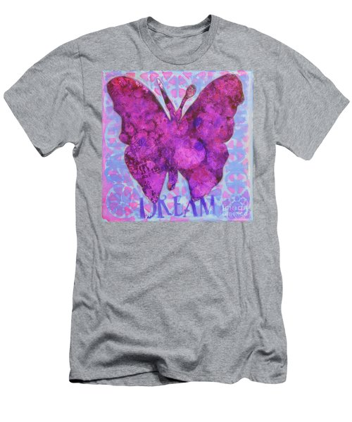 Dream Butterfly Men's T-Shirt (Athletic Fit)