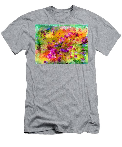 Dream Of Flowers Men's T-Shirt (Athletic Fit)