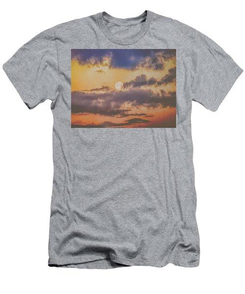 Dreamy Moon Men's T-Shirt (Athletic Fit)