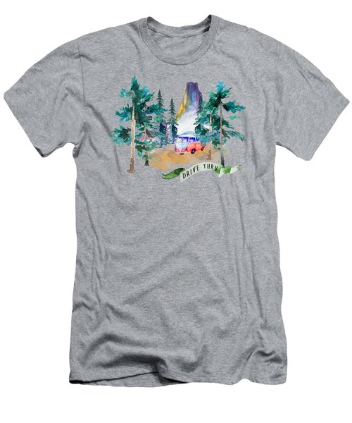 Drive Thru Men's T-Shirt (Athletic Fit)