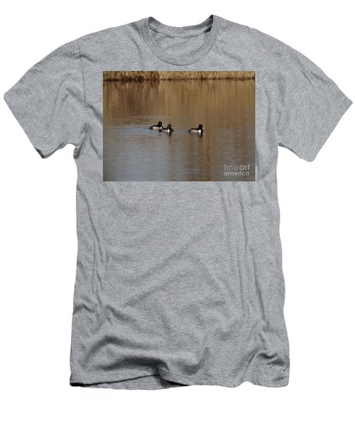 Duckies In A Pond Men's T-Shirt (Athletic Fit)