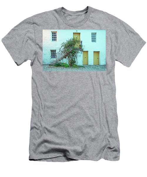 Dunkeld. The Cathedral Square. Men's T-Shirt (Athletic Fit)