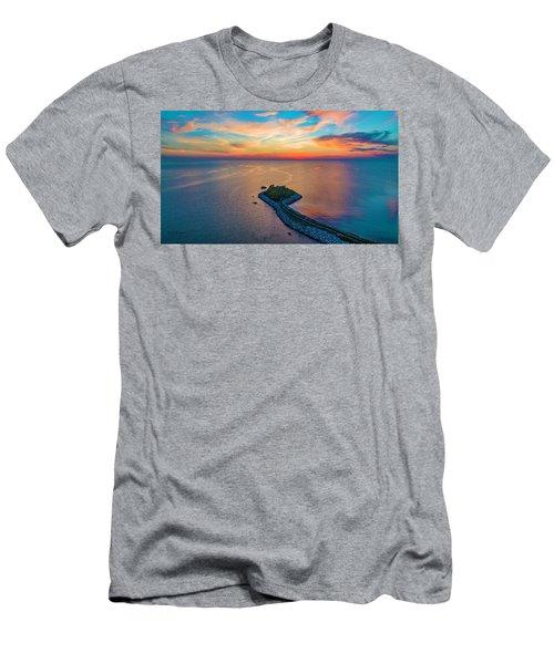 Dusk At The Knob Men's T-Shirt (Athletic Fit)