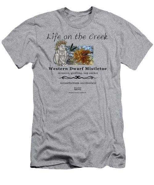 Dwarf Mistletoe Men's T-Shirt (Athletic Fit)