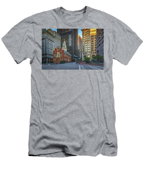 Early Morning At The Old Statehouse Men's T-Shirt (Athletic Fit)