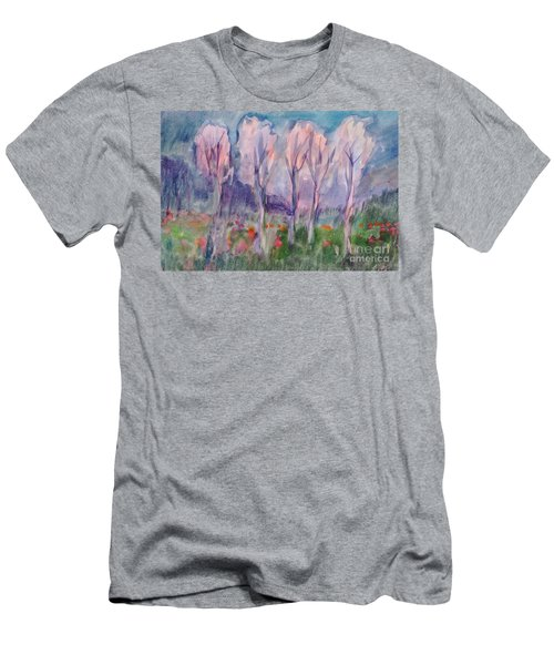 Early Morning In The Forest Men's T-Shirt (Athletic Fit)