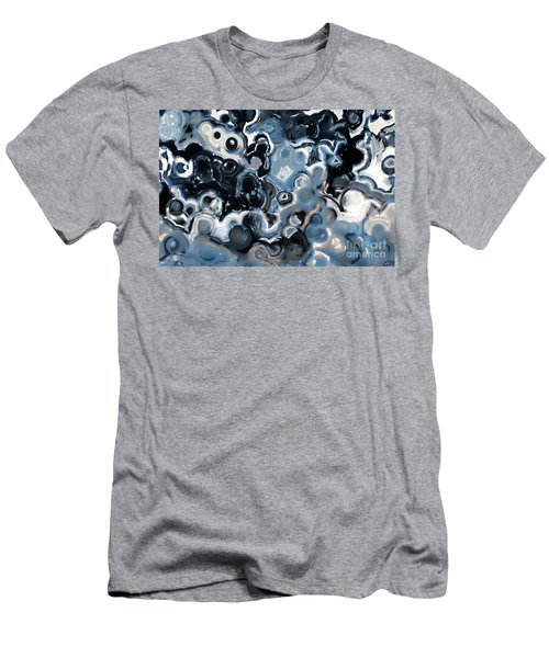 Men's T-Shirt (Athletic Fit) featuring the painting Ecclesiastes 11 5. The Works Of God by Mark Lawrence