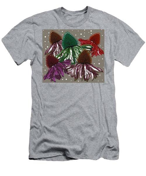 Echinacea Flowers Dance Men's T-Shirt (Athletic Fit)