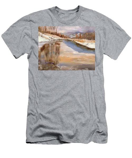 Edge Of Winter Men's T-Shirt (Athletic Fit)