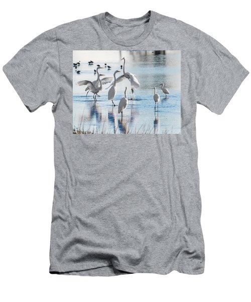 Egret Ballet 1400 Men's T-Shirt (Athletic Fit)