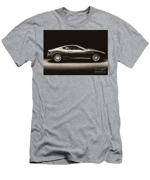 Elegant Darkness Men's T-Shirt (Athletic Fit)
