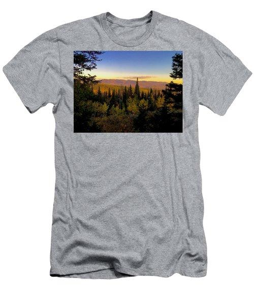 Elk Bluff  Men's T-Shirt (Athletic Fit)