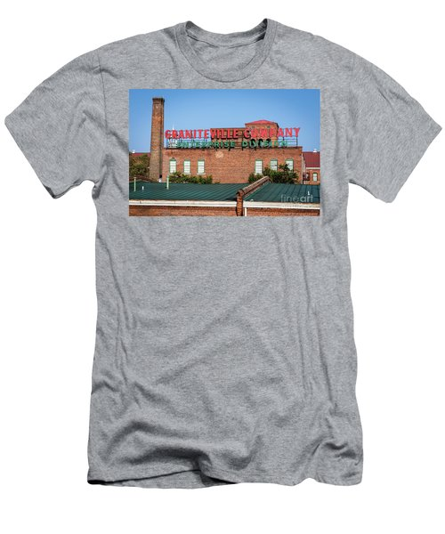 Enterprise Mill - Graniteville Company - Augusta Ga 2 Men's T-Shirt (Athletic Fit)
