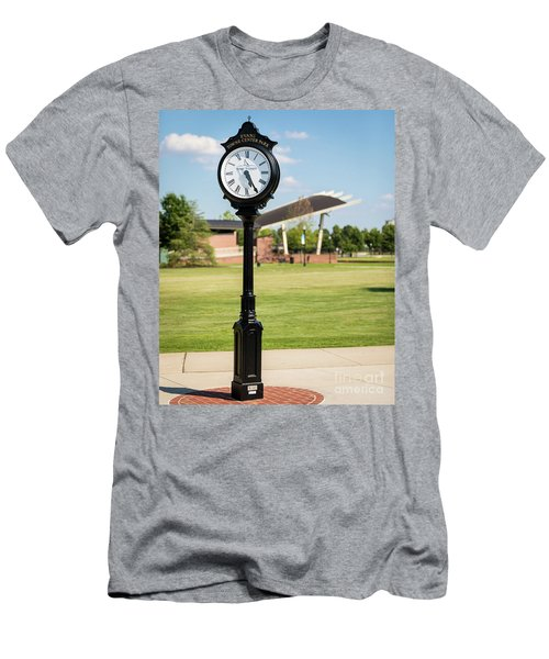 Evans Towne Center Park Clock - Columbia County Ga Men's T-Shirt (Athletic Fit)