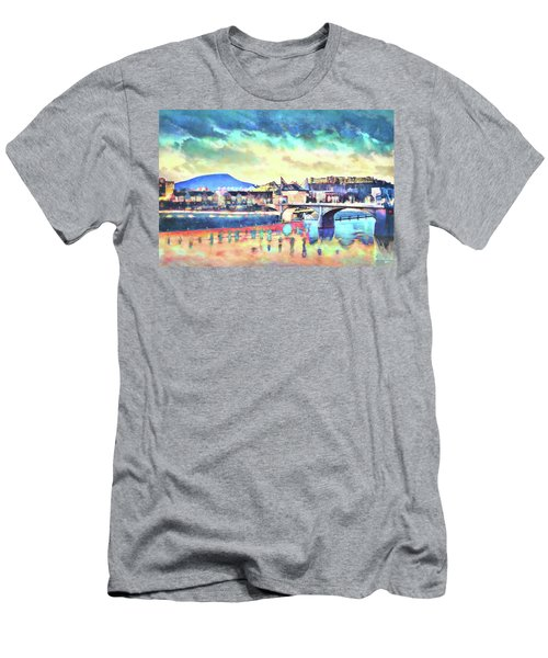 Evening Glow After The Storm Men's T-Shirt (Athletic Fit)