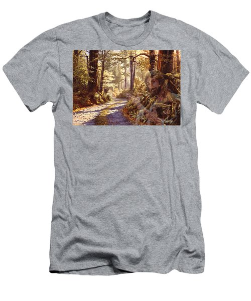 Explore With Me Men's T-Shirt (Athletic Fit)