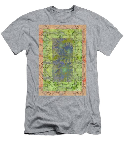 Men's T-Shirt (Athletic Fit) featuring the digital art Fading Memory by Mike Braun