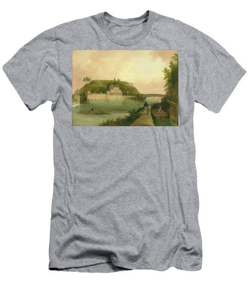 Fairmount Waterworks About 1838 Men's T-Shirt (Athletic Fit)
