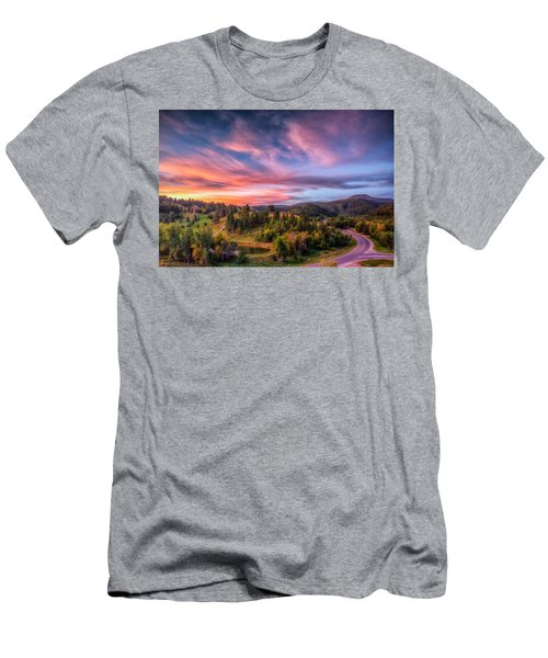 Fairytale Morning Men's T-Shirt (Athletic Fit)