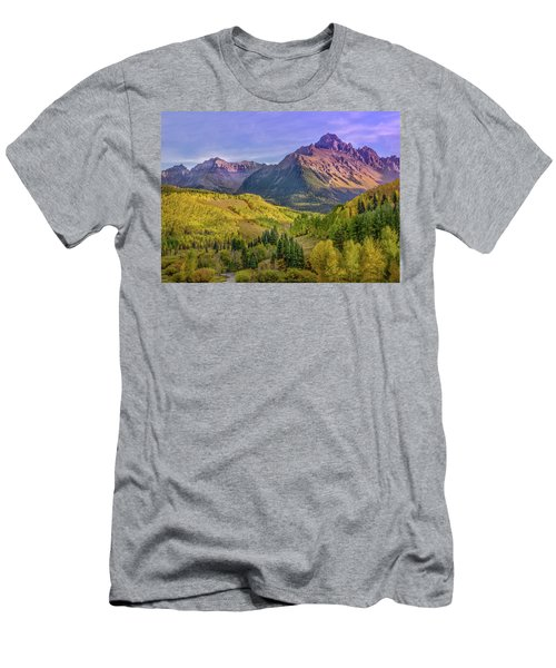 Fall Color In The San Juan Mountains Men's T-Shirt (Athletic Fit)