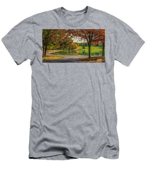 Fall In Montreal Men's T-Shirt (Athletic Fit)