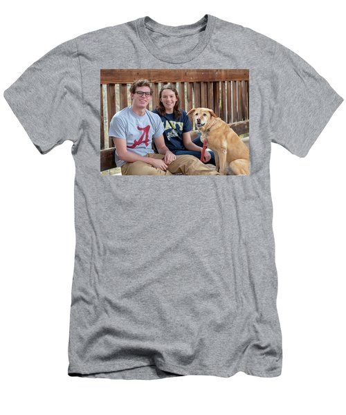 Family Dog Men's T-Shirt (Athletic Fit)