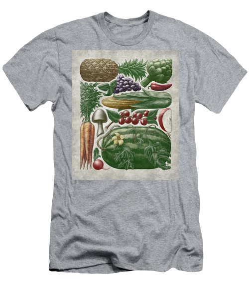 Farmer's Market - Color Men's T-Shirt (Athletic Fit)