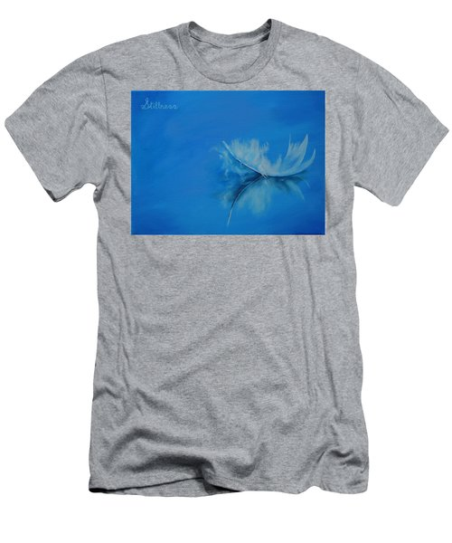 Feather Floating - Stillness Men's T-Shirt (Athletic Fit)