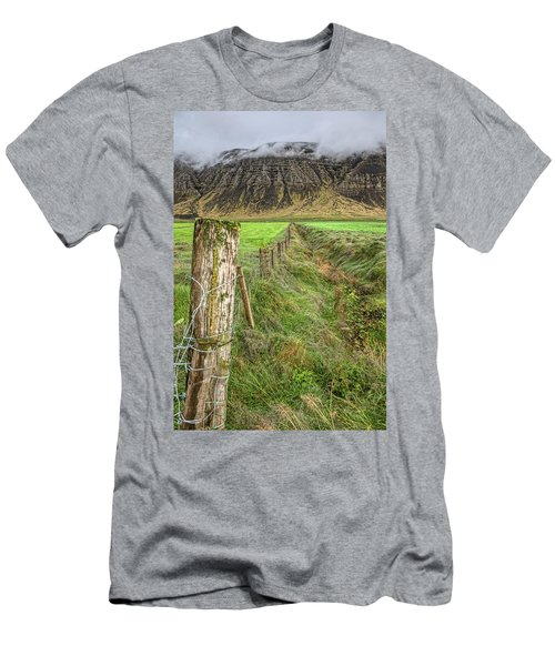 Fence Of Iceland Men's T-Shirt (Athletic Fit)