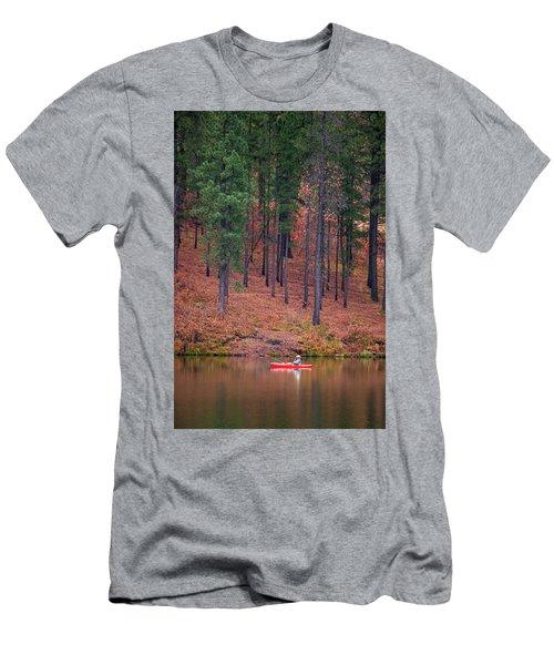 Fishing Fenton Lake Men's T-Shirt (Athletic Fit)