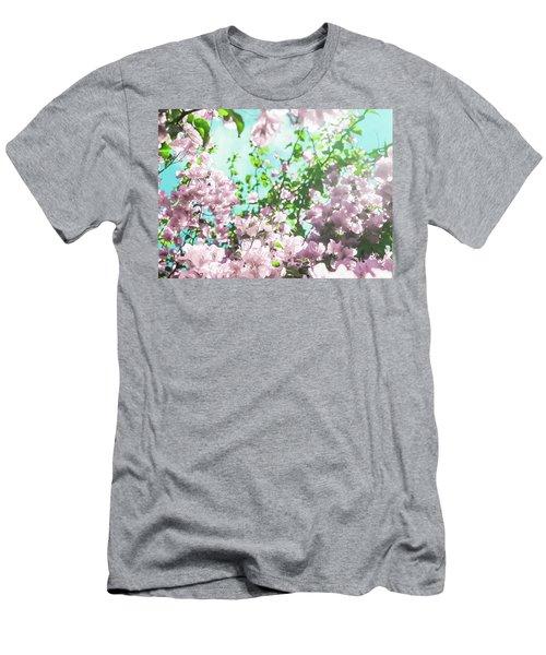 Floral Dreams V Men's T-Shirt (Athletic Fit)