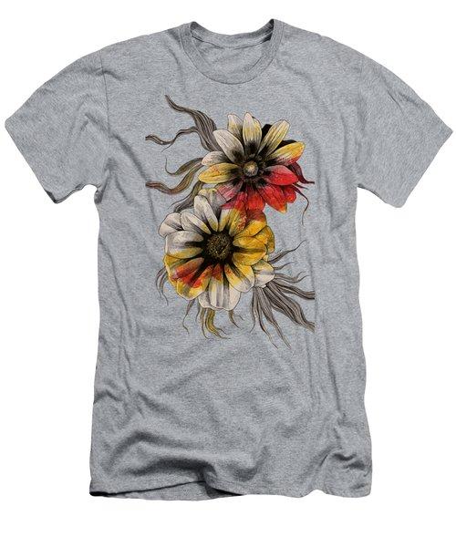 Floral Series - Gazania Rigens Men's T-Shirt (Athletic Fit)
