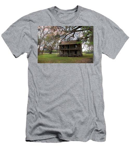 Florida Farmhouse Falls Apart Men's T-Shirt (Athletic Fit)