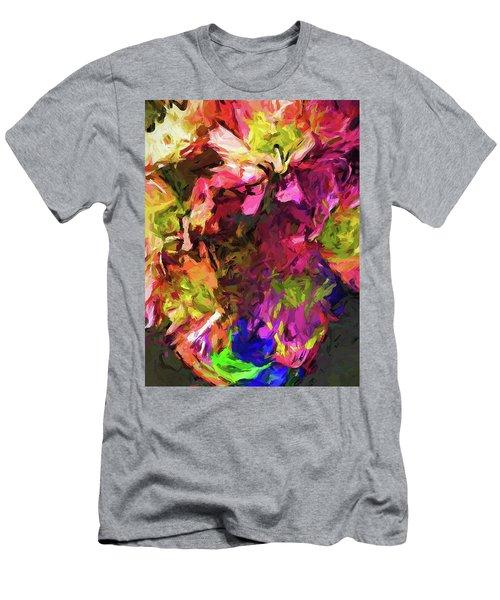 Flower Colour Love 1 Men's T-Shirt (Athletic Fit)