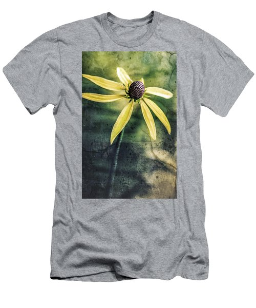 Men's T-Shirt (Athletic Fit) featuring the photograph Flower Texture by Michael Arend