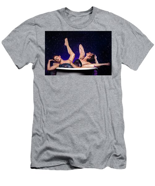 Achelois And Sister Bathing In The Galaxy Men's T-Shirt (Athletic Fit)
