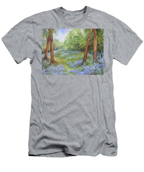 Follow The Bluebells Men's T-Shirt (Athletic Fit)