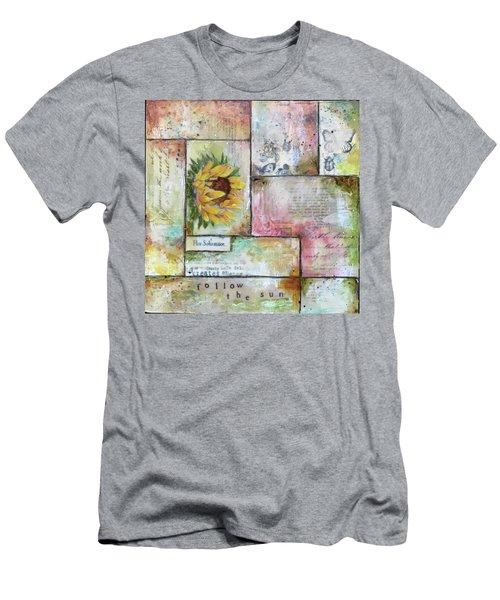Follow The Sun Men's T-Shirt (Athletic Fit)