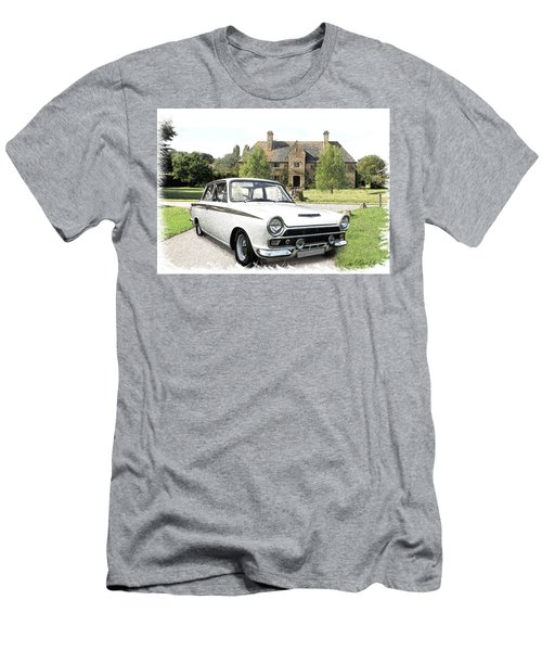 Ford 'lotus' Cortina Men's T-Shirt (Athletic Fit)