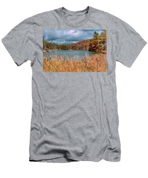 Framed Lake Men's T-Shirt (Athletic Fit)