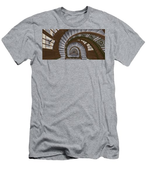 Frank Lloyd Wright - The Rookery Men's T-Shirt (Athletic Fit)