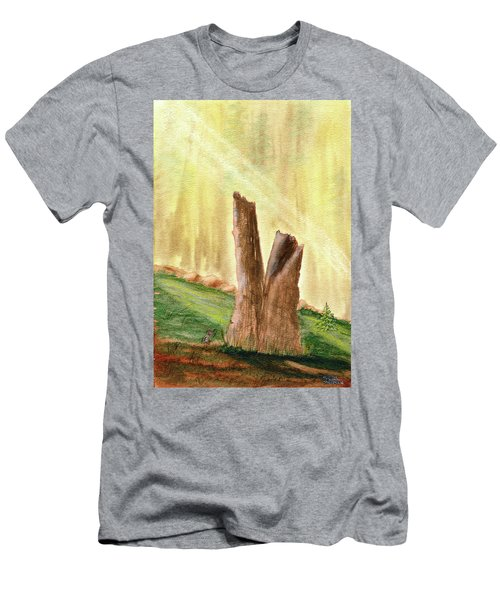 From Ruins Comes New Life Men's T-Shirt (Athletic Fit)