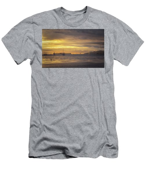 From Sunset Beach Men's T-Shirt (Athletic Fit)