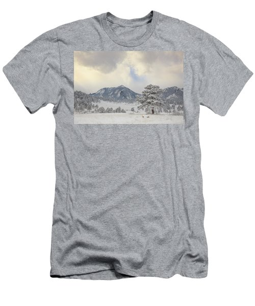 Frosty Flatirons Men's T-Shirt (Athletic Fit)