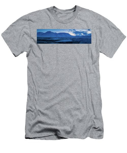 frozen coastline near Longyearbyen Men's T-Shirt (Athletic Fit)