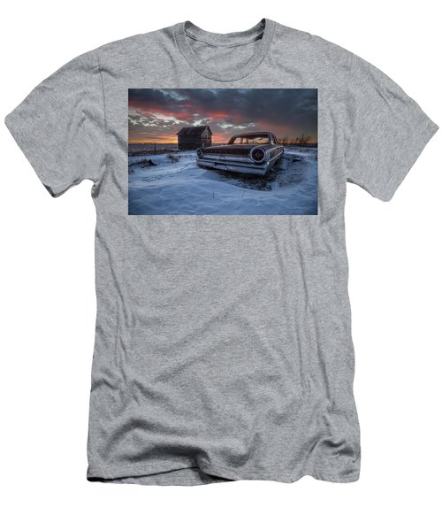 Men's T-Shirt (Athletic Fit) featuring the photograph Frozen Galaxie 500  by Aaron J Groen