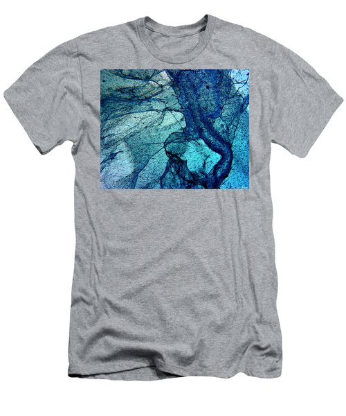 Frozen In Blue Men's T-Shirt (Athletic Fit)